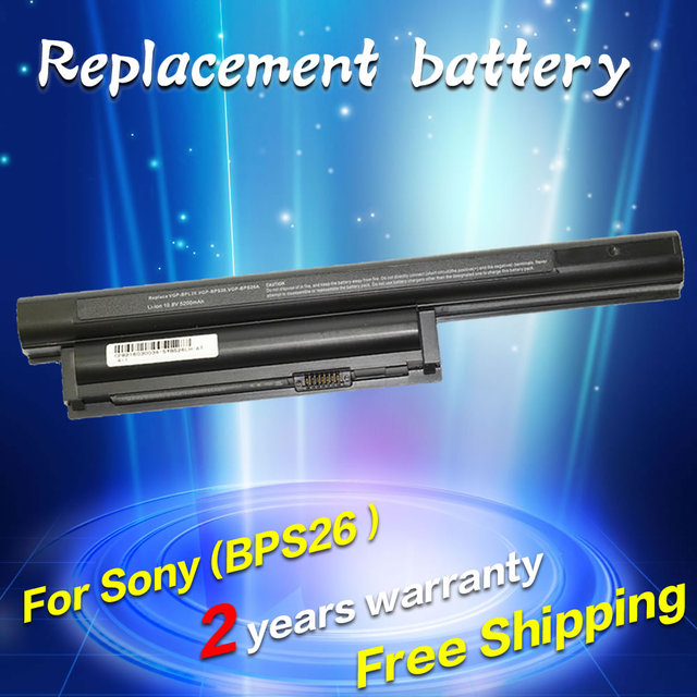 Jigu 4400 mah 11.1 v bateria do portátil para sony vaio vgp-bps26 vgp-bps26a para vaio sve14111 sve14115 sve14116 sve15111 sve141100c