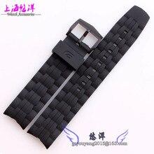 Reemplazo 22 mm nuevo reloj para hombre de banda EF-550 negro impermeable correas de reloj correa