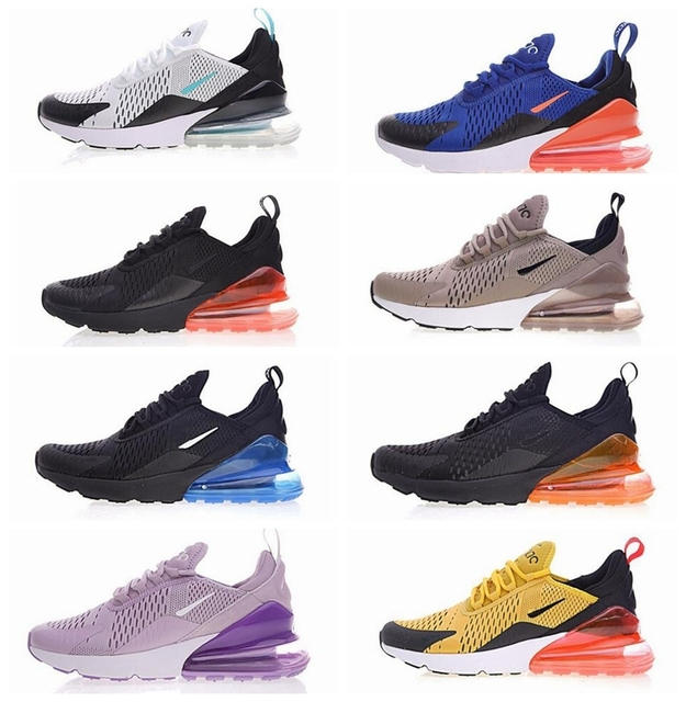finest selection 5abe6 bf517 New Max Hot Air Vapormax 270 Mens Women Running Shoes Flair Triple Black 27c  Og Presto