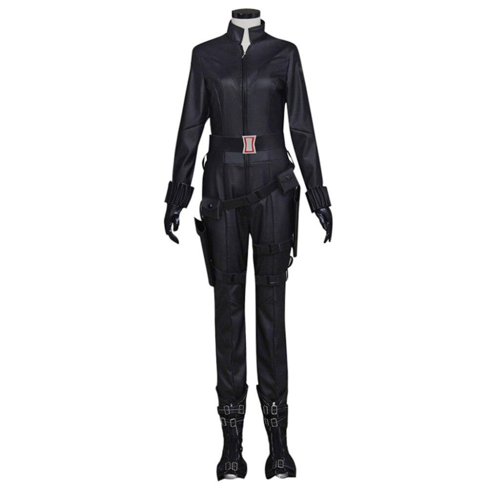 Captain America Civil War Black Widow Cosplay Costume Natasha Romanoff Cosplay The Avengers Jumpsuits Clothing Custom Made