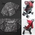 Respirável Carrinho De Capa De Chuva Transparente Criança Carro Do Bebê Carrinho De Bebé Carrinho De capa de Chuva Escudo de Vento Universal Fit Acessórios 22