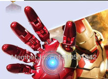 Hot selling  2.0 USB Flash drive Memory Drive Stick Pen drive 100% real capacity iron man hand LED8GB 16G 32GB USB S20
