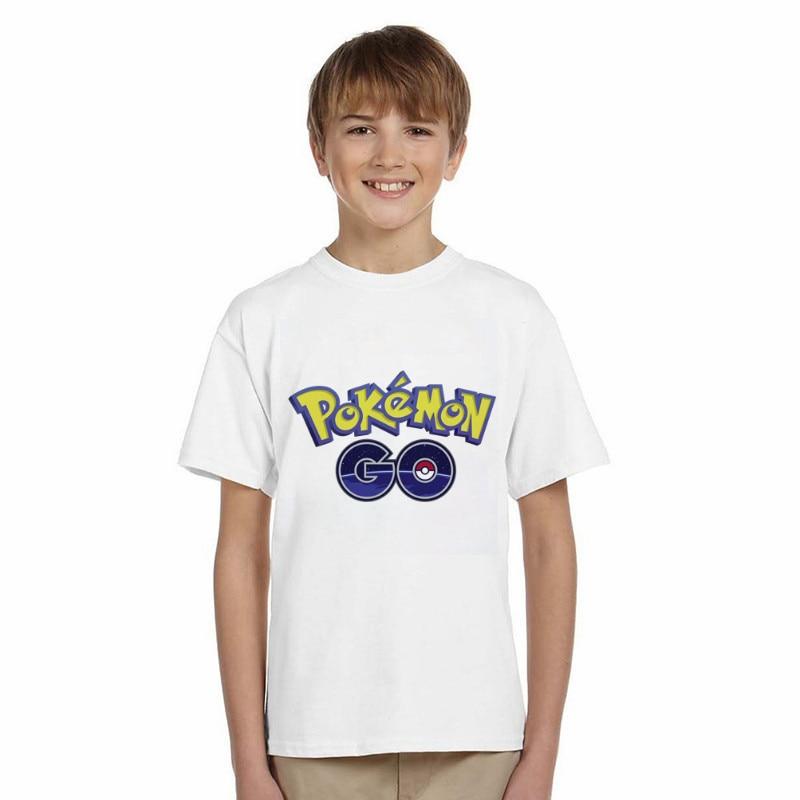 LYTLM Baby Clothing Children Boys Girls T-shirts Cotton Short Sleeve Pokemon Cartoon Tshirt for Boy Tops Kids Clothes Tee Shirts