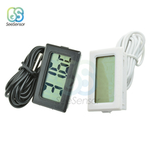 TPM-10 LCD Digital Thermometer Temperature Sensor Meter Weather Station Temperature Controller Thermostat 2M for Refrigerator стоимость