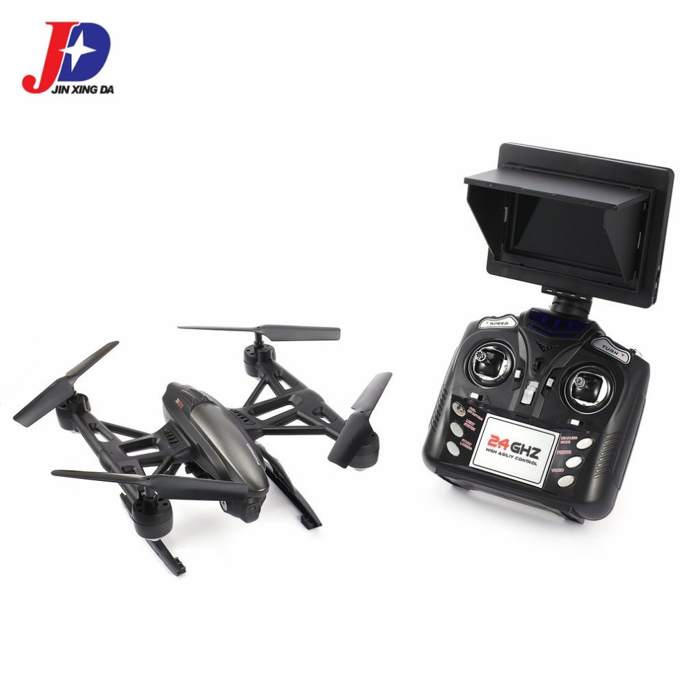 JIN XING DA 509G 2.4GHz Mini Drone 5.8G FPV RC Quadcopter with 2.0MP HD Camera Headless Mode Altitude Hold Mode tz jin jie mini