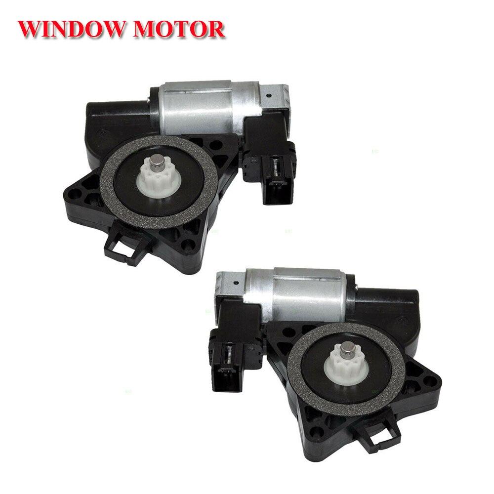 Pair Set Front Power Window Lift Regulator Motors For Mazda CX 7 CX 9 5 6
