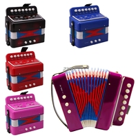 2017Small Accordion Kids Children Student Music Instrument Toy Gift 7 Keys 2 Bass APR22 30