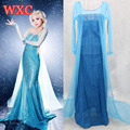 Halloween Princess Elsa Dress Cosplay Party Adult Costume Lolita Anime Disfraces Adultos Kawaii Clothes WXC
