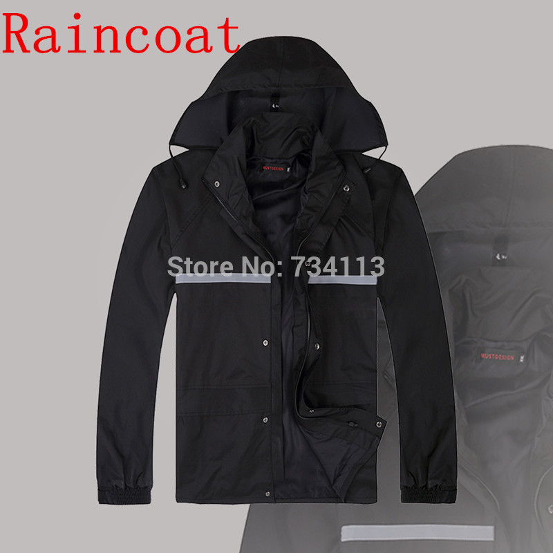 High quality raincoat rain pants heavy rain gear for Motor cycle rain gear