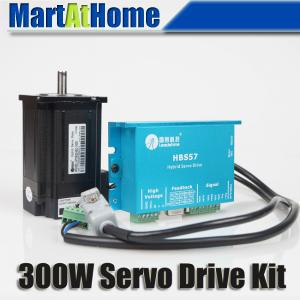 300W Leadshine Easy Closed Loop 3-phase Hybrid Servo Drive Kit HBS57 Drive + 573S20EC Motor with Encoder #SM359 @SD nema23 3phase closed loop motor hybrid servo drive hbs507 leadshine 18 50vdc new original