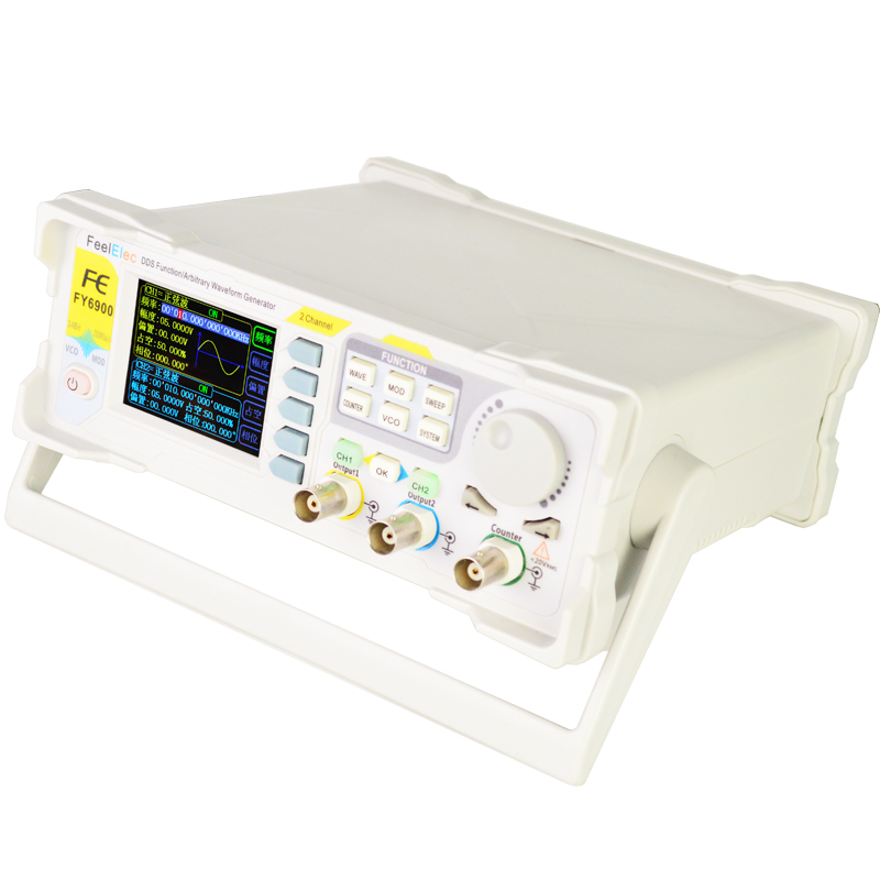 FY6900 60MHZ Dual Channel DDS Arbitrary Waveform Signal Generator Signal Source Frequency Counter Fully Numerical Control