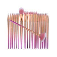 New 20Pcs Blending Pencil Foundation Eye Shadow Makeup Brushes Eyeliner Brush