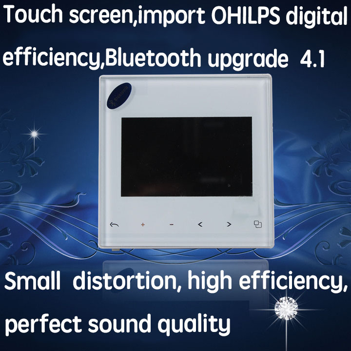 3 inch Home Audio in wall FM SD AUX IN USB Music Player Bluetooth digital stereo