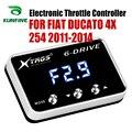 Автомобильный электронный контроллер дроссельной заслонки гоночный ускоритель мощный усилитель для FIAT DUCATO 4X254 2011-2014 Тюнинг Запчасти аксес...