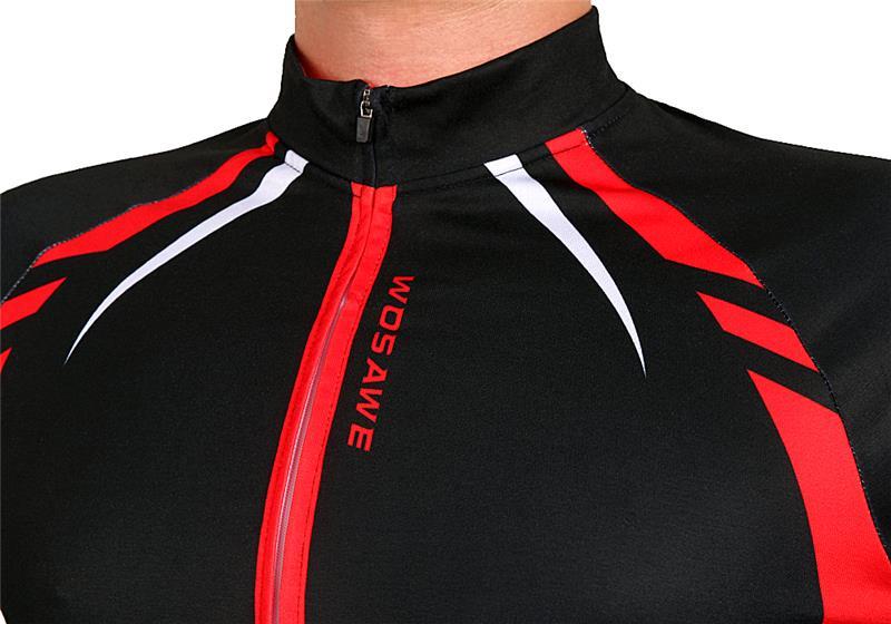 WOSAWE termiske cykeljakker Gule vindtæt langærmet trøje MTB cykel - Cykling - Foto 6