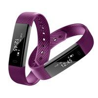 ID115 IP67 Étanche Fitness Tracker Bluetooth 4.0 Moniteur de Sommeil Creative Montres À Distance Camera Control Coloré Bracelet Montre