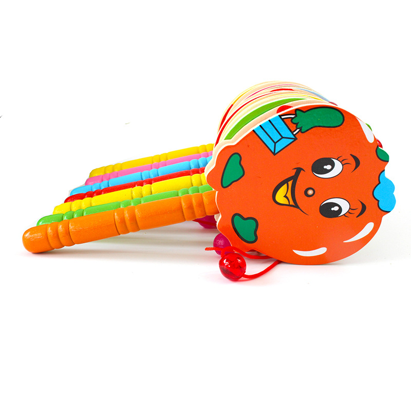 1pc Baby Electric Rattle Drum Musical Hand Bell Drum Toys Children Early Educational Learning Musical Instrument Rattles Toy Baby Rattles & Mobiles