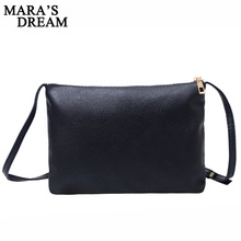 Mara's Dream Woman Messenger Bag Handbags High Quality PU Leather Metal Zipper Solid Color Sequined Party Purse Handbags Bags