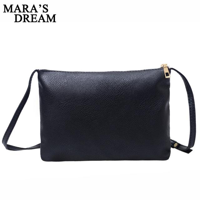 Mara's Dream Woman Messenger Bag Handbags High Quality PU Leather Metal Zipper Solid Color Sequined Party Purse Handbags Bags