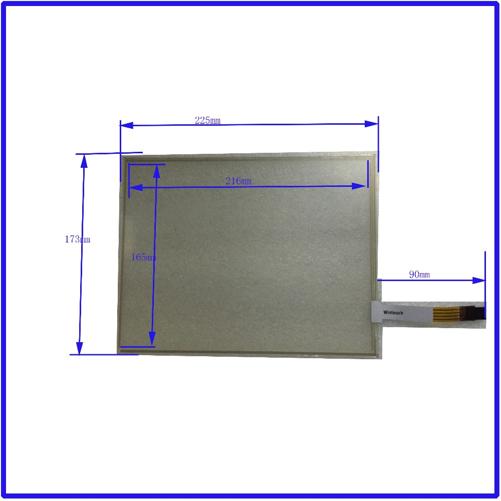 ФОТО 225mm*173mm 10.4 Inch Touch Screen panels 4 wire resistive USB touch panel overlay kit  Free Shipping