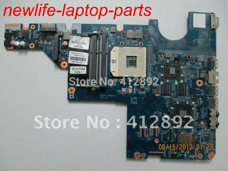 G42 CQ42 motherboard 595183-001 DA0AX1MB6H1 non-integrated 100% work promise quality fast ship