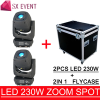 disco dj stage lights stage lighting effect dmx spot 230W LED BEAM SPOT ZOOM 3IN1 Moving Head Lighting