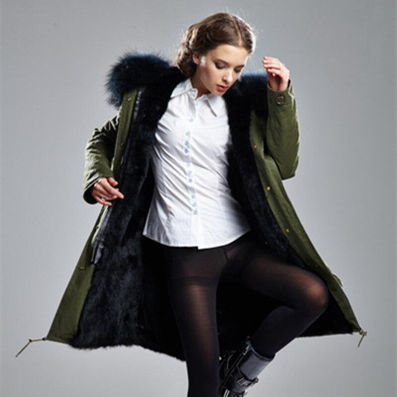 2016 mr Mrs пальто с мехом парка кроличий мех пальто Меховая куртка енота брендовая зимняя светло фиолетовый пальто парка
