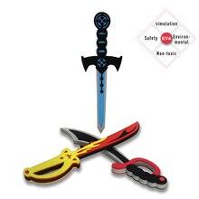 Прямая поставка, Специальный пиратский меч, игрушечный воин, оружие, подарок на Хэллоуин, игрушечный нож для мальчика, рыцарь, ролевые игры, реквизит
