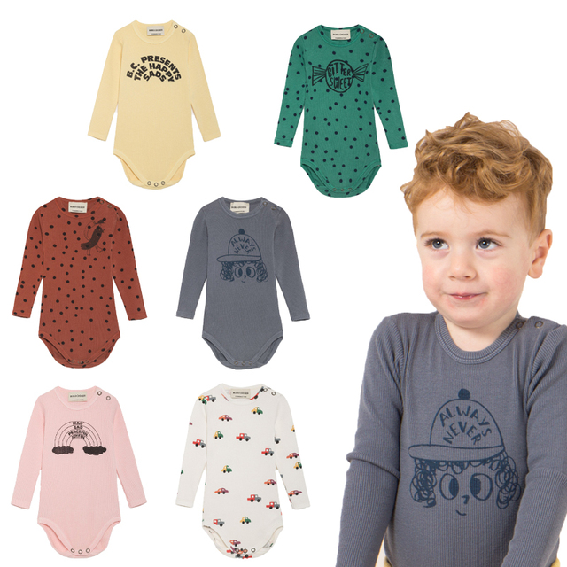 71923996f42 Kids Romper 2018 Autumn Bobo Choses Tao Animal Baby Rompers New Born Baby  Clothes Infant Jumsuit Kids Clothes Cartoon Suits Vest