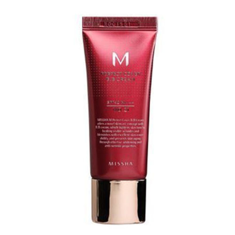 MISSHA Perfect Cover BB Cream SPF42 BB CC Creams #21 And #23 Whitening <font><b>Nude</b></font> Makeup Concealer Isolation Foundation Moisturizing