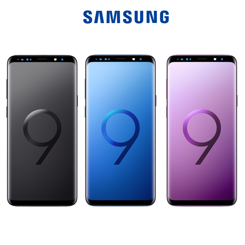 Original LCD For Samsung Galaxy S9 S9+ Plus G965 G960 Burn-in Shadow Lcd Display With Touch Screen Digitize