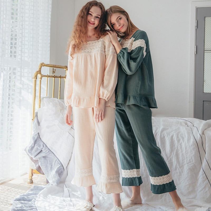brand Fashion Pregnant Clothes Sets 2018 Women Postpartum Pajamas Female Cotton Shirts Tops Nursing Clothing Suit