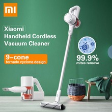 Xiaomi Mijia Handheld Vacuum Cleaner Cordless Home Car Household Wireless Aspirador 9 Cyclone Suction Device 23000Pa