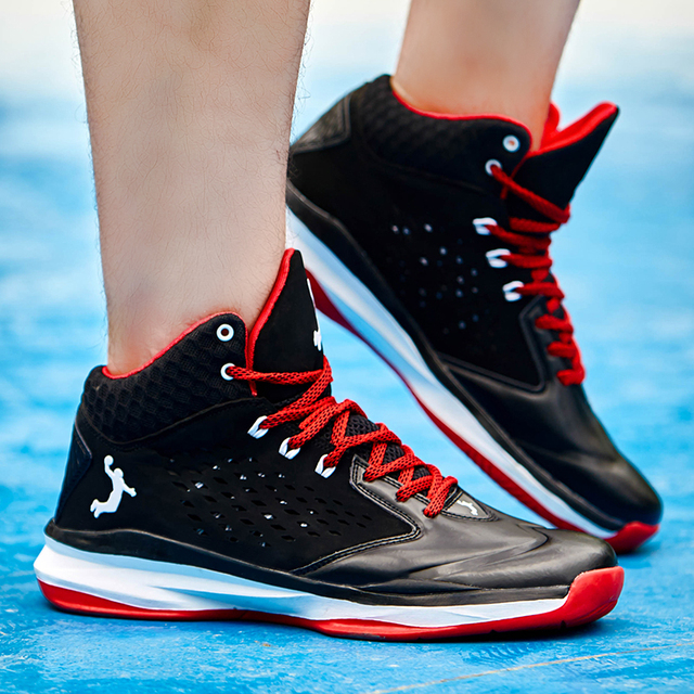 EUR 39-45,new arrival 2016 men brand basketball shoes leather ankle boots style men sneakers basketball sport shoes homme