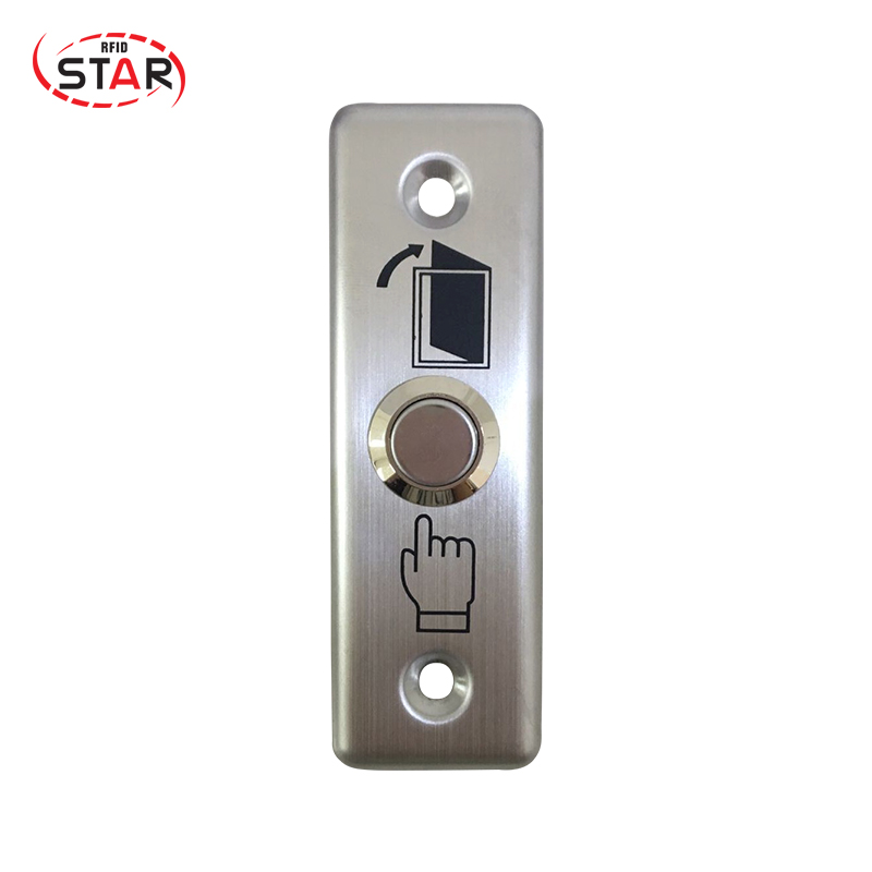 Ambitious Rfid 5pcs/lot Touch Switch Door Exit Button For Access Control Hot Sale Stainless Steel Metal Exit Button High Resilience Access Control Accessories Access Control