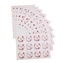 120 шт спасибо уплотнительные наклейки розовые красные цветы Печенье Подарочная коробка метка для торта ручная работа подарок День благодарения декоративные наклейки-in Украшения для праздников from Дом и сад on Aliexpress.com   Alibaba Group