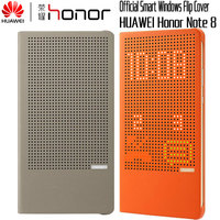 HUAWEI Honor Note 8 Case Original Official Colorful Smart Display View Flip Leather Wallet Cover Honor