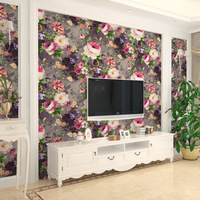 2019 New 3d Photo Wallpaper Nature Flower Paper Wall Decor American Countryside Tv Background Wall Paper Roll