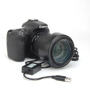 Image 5 - Адаптер питания для Canon EOS 750D, 760D, 77D, 800D, 200D, Rebel SL2, Kiss X8i, T6i, T6S, с USB кабелем, с зарядным устройством, с зарядкой от USB кабеля, с разъемом для зарядки в виде батареи, для Canon EOS, 760D, 760D, 77D, 77D, 800D, 800D, 800D