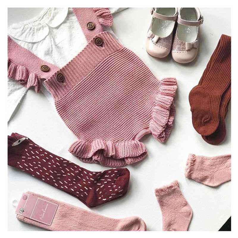 Newborn Baby Girl Knitted Clothes Baby Boys Rompers Brand Jumpsuit  Autumn Baby Girls Rompers Cotton
