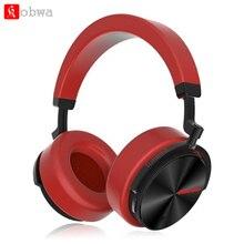 Bluedio T5, активные наушники с шумоподавлением, беспроводная Bluetooth гарнитура, музыкальные спортивные наушники с микрофоном для телефона, ПК