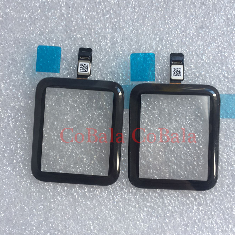 1Pcs Touch Screen Digitizer For Apple Watch Series 2 3 38mm 42mm LCD Front Glass Sensor Outer Panel Cover With Flex Cable+Tools