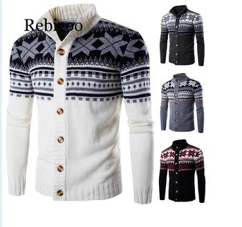 2019 Autumn and winter explosions foreign trade sweaters Europe the United States Christmas mens single-breasted bottoming