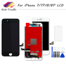 1PCS AAA+++ Screen For iPhone 7 Plus 8 LCD Display 3D Touch screen Digitizer Assembly Tempered Glass + Repair Tools