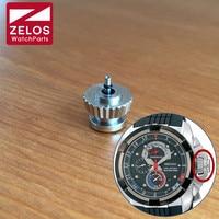 steel waterproof crown for Seiko Velatura SPC007J1 SRH005J1 SRH001J1 watch