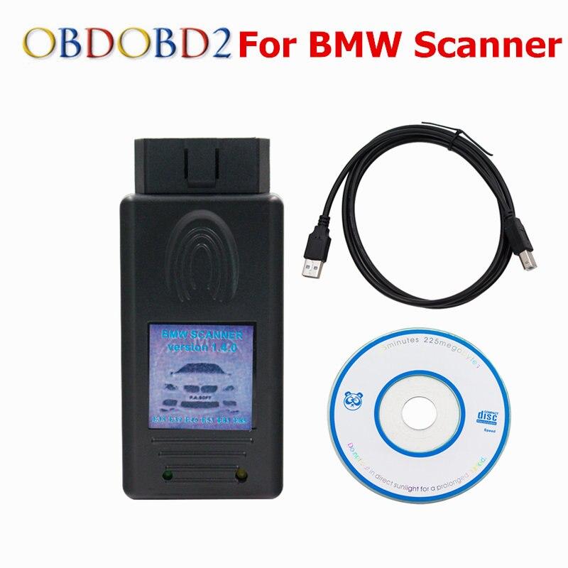 Авто сканер 1.4 для BMW Сканер 1.4.0 Разблокировать Версия OBD2 код читателя для bmw scanner 1.4 FTDI OBD2 diagnsotic инструмент
