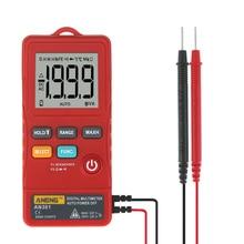 ANENG AN301 true rms digital multimeter tester esr meter transistor testers automatic multimetro profesional profesional car