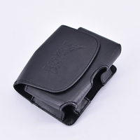 Playing Card Deck Carrier Case Leather Double Deck Card Clip Trick Card Magic Magic Accessory Magic