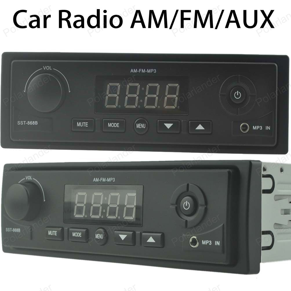 2016 new 12v car tuner stereo fm radio mp3 car radio tuner. Black Bedroom Furniture Sets. Home Design Ideas