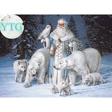 Buy Full,Santa Claus,Diamond Embroidery,5D,Diamond P online
